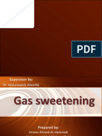 Gas sweetening - نسخة.ppsx