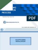 3.Scaffolding Installation Process