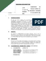 Subdivision Pucallpa
