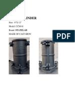 Mold Cylinder Statelab