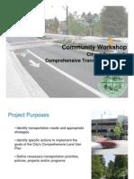 Dunwoody Transportation Plan Presentation 10-18-10