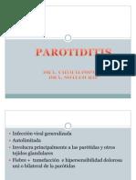parotiditis exposicion