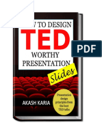 How to Design TED Wothy Presentation Slides