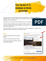 Fiche Pratique 22 Programmer Partage Facebook
