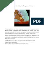 Orthorektifikasi Dengan Metode Rigorious Menggunakan Software OrthoWarpER