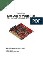 Wave Xtable Manual Gb 1.0