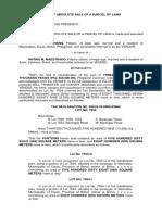 - Tax Declaration