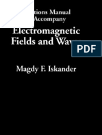 Iskander - Electromagnetic Fields and Waves