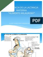 Importancia de La Lactancia Materna