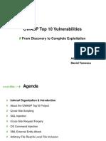 OWASP Top10 Workshop