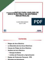 (GERS POWER) Herramientas Para Analisis de Arco Electrico