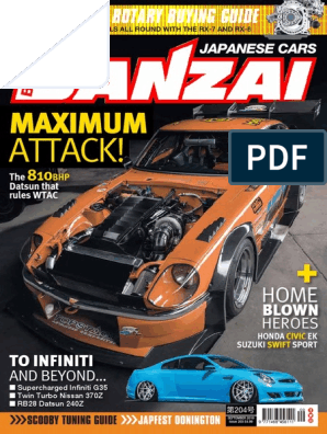 Banzai - September 2018 UK | Auto Racing | Turbocharger