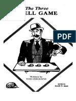 Tom Osbourne - Three Shell Game
