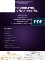 2. Bronquiolitis, Crup y Tos Ferina by Luis h