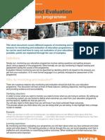 AFA - M & E of Education Programmes Guide