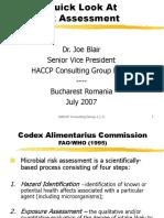 Risk Assessment JB-l2007
