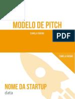 Modelo de Pitch Camila Farani 1