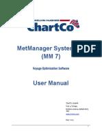 Metmanager User Manual..