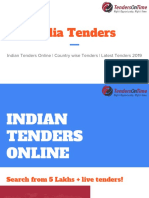 Indian Tenders Online