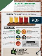 Cardapio Cervejaria Nacional