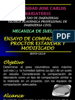 14 Ensayo de Compactación Proctor Estandar y Modificado