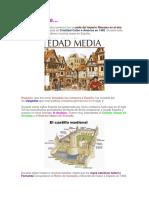 Informacion Sobre La Edad Media
