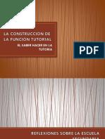 Laconstrucción de La Función Tutorial