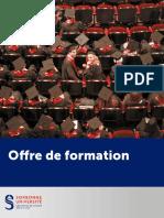 Offre Sorbonne formation