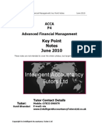 Acca Bpp Practice & Revision Kit | Valuation (Finance) | Mergers And