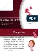 ppt disminore