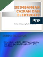 Keseimbangan Cairan Dan Elektrolit
