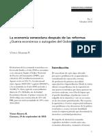 La economía venezolana después de las reformas TEXTO.pdf