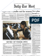 The Daily Tar Heel for October 19, 2010