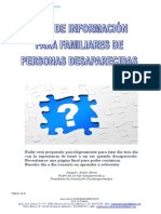 Guía de Información Para Familias de Desaparecidos