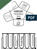 Manipulative & Scientific Flap Foldable