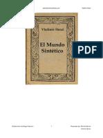 El Mundo Sintetico - Vladimir Henzl.pdf