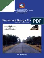 DoR Pavement Design Guidelines