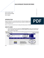 User Manual- Rt Pdmsd