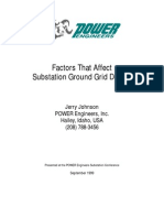 Substation Ground Grid Design