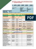 directory (DATA DGCA Officers).pdf