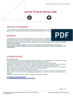 Kalenji - Perte de Poids Denviron 10 Kg en Course a Pied - 18780