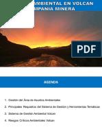 Presentacion Gestion Ambiental Volcan UNALM