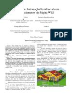 Solução Em Automação Residencial Com Gerenciamento via Página WEB