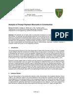 2013 Al-Hussein Liu Liu Su Lucko Analysis of Prompt Payment