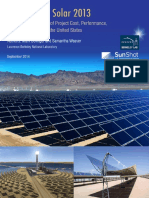 LBNL Utility-Scale Solar 2013 Report