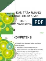 Desain Dan Tata Ruang Laboratorium Kimia