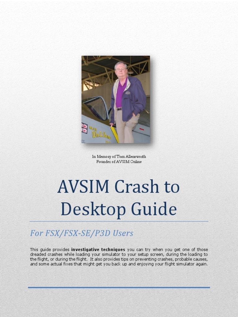 Avsim Ctd Guide - 2018 | Device Driver | Windows 10