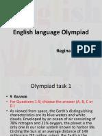 English Language Olympiad