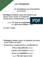 Gramática temas 5 y 6 - 2ºESO