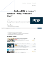 Www Springboottutorial Com Spring Boot and h2 in Memory Data